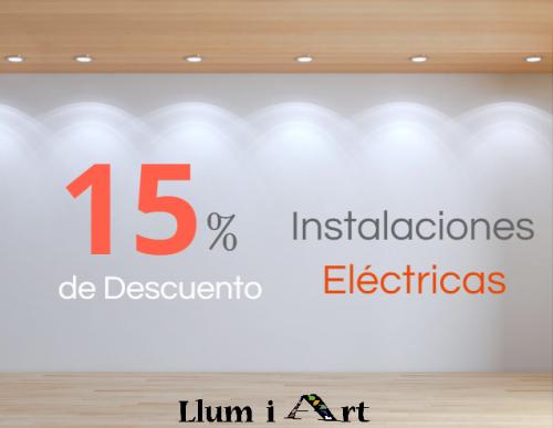 Oferta electricista valencia llumiart - Electricistas valencia ...