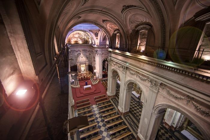 Ilumiinación Iglesia universitaria del temple. Valencia