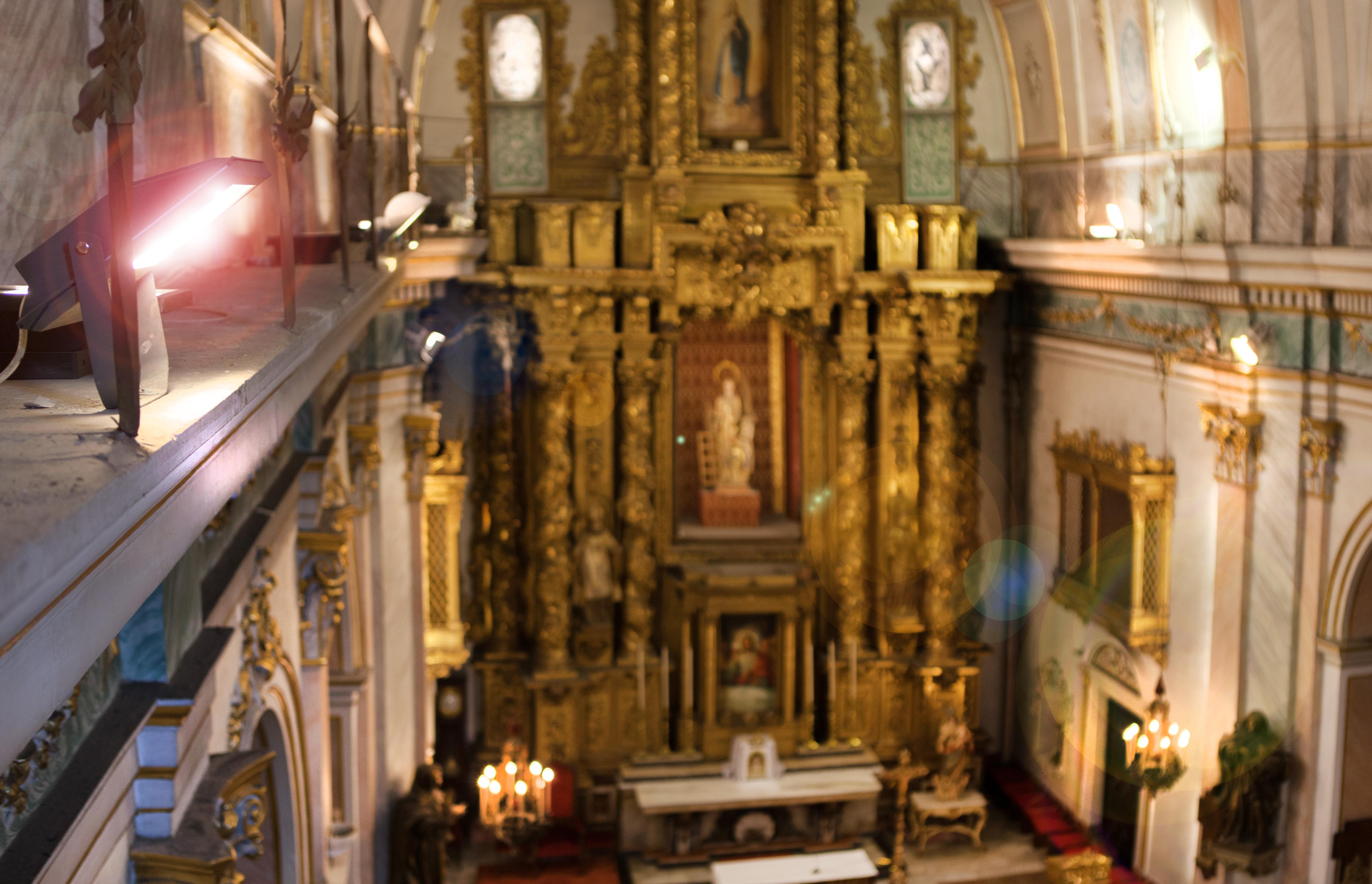 Iluminación Iglesia San lorenzo, padres franciscanos. Valencia. 4