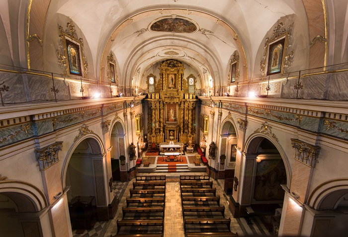 Iluminaci n nave central y altar iglesia san lorenzo - Iluminacion en valencia ...