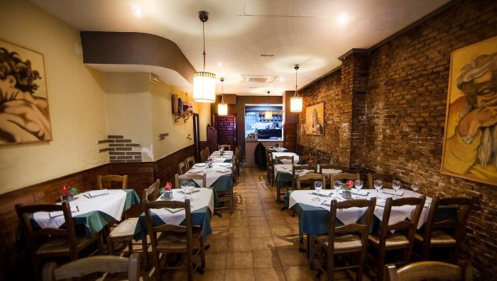 Instalación restaurante Italiano. Casa Nostra. Canovas, Valencia