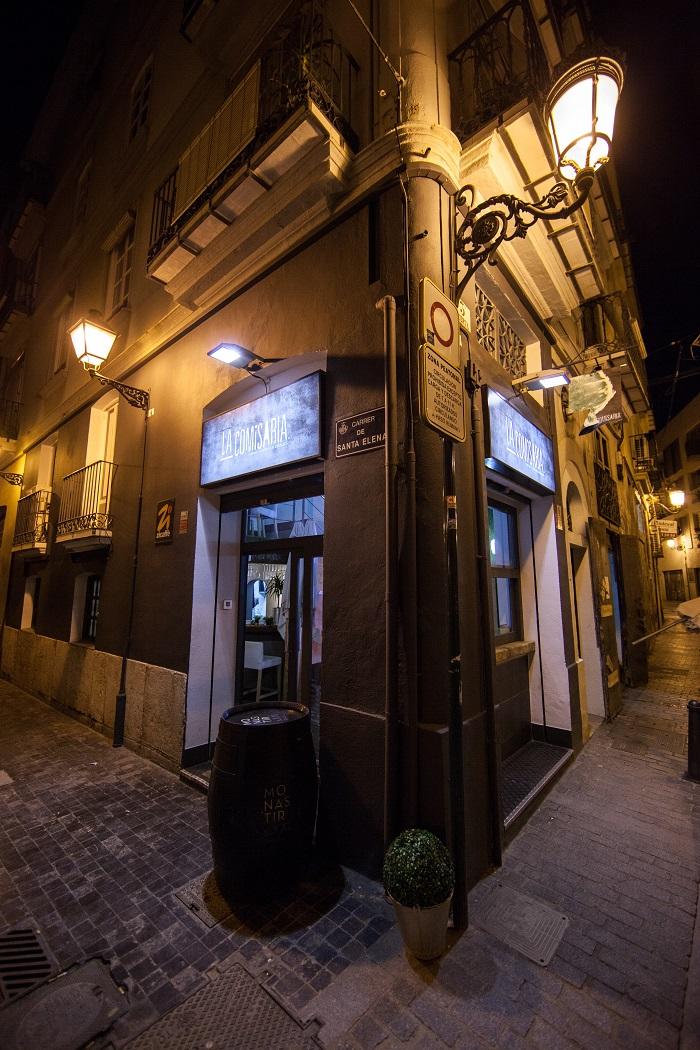 Instalación restaurante la comisario. barrio del carmen, Valencia