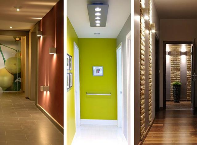 iluminacion pasillos