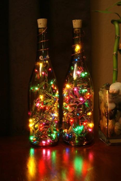 decoracion-navidena-botellas