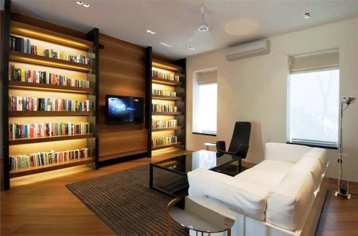iluminacion libreria