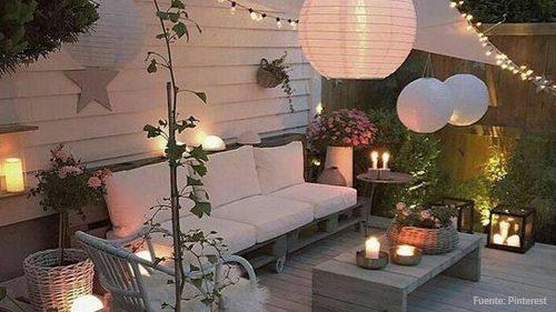 5 Ideas Para Triunfar Con La Iluminación De Tu Terraza