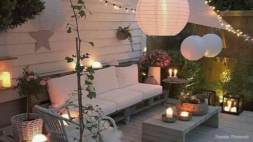 5 ideas para triunfar con la iluminaci n de tu terraza for Iluminacion terraza